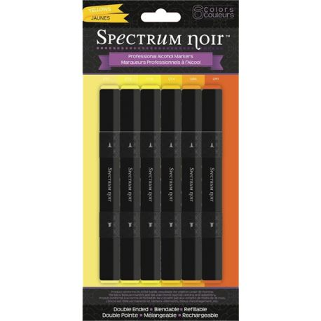 Surtido rotuladores de alcohol Spectrum Noir Yellow