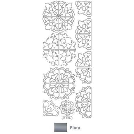 Peel Off - Rosetones Plata