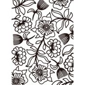 Embossing Folder Whimsical de Darice - Carpeta de relieve