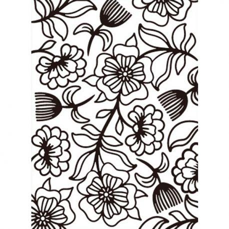 Embossing Folder Whimsical de Darice - Carpeta de relieve