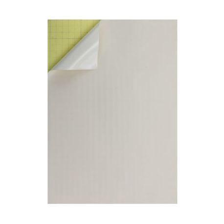 Hoja adhesiva doble cara A4 blanca