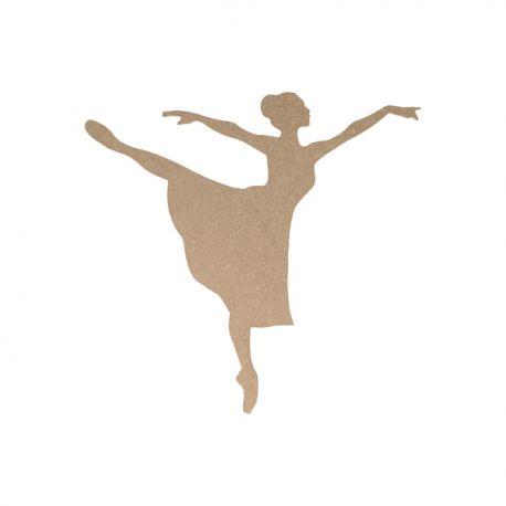Silueta Danza Mediana Artemio en DM para decorar