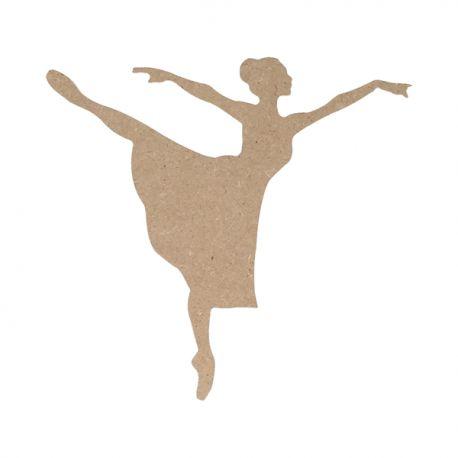 Silueta Danza Grande Artemio en DM para decorar