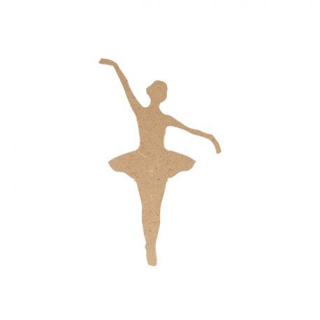 Silueta Bailarina Mediana Artemio en DM para decorar