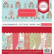 Cuaderno de cartulinas para scrapbooking Gingerbread Cottage