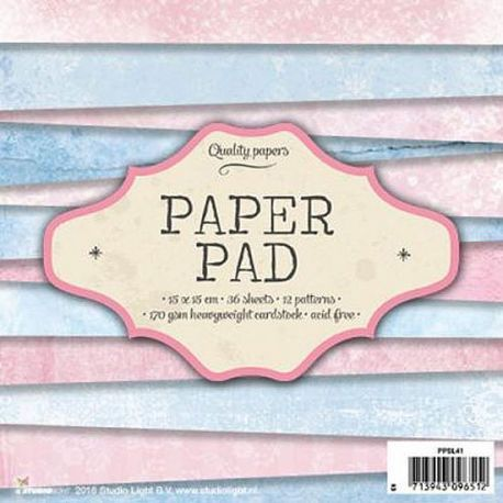 Bloque de papel Boys And Girls studio Light PPSL41