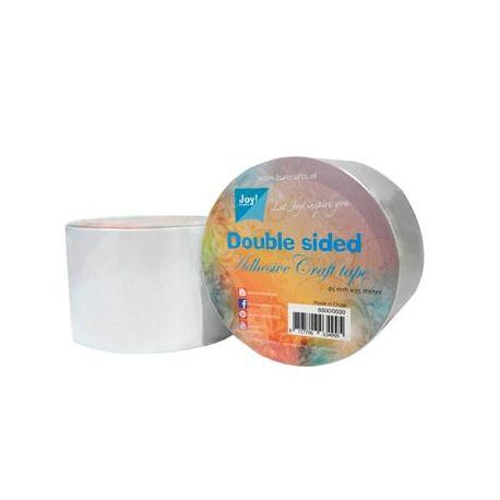 Rollo adhesivo doble cara 6,5cm