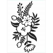 Embossing Folder - Small Flower