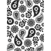 Embossing Folder - Floral Paisley