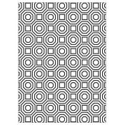Embossing Folder - Octagon