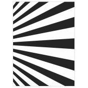 Embossing Folder - Sunrays