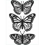 Embossing Folder - Trio Mariposas