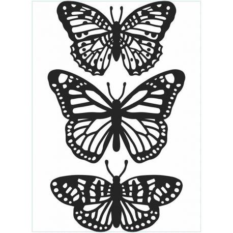 Embossing Folder - Trio Mariposas