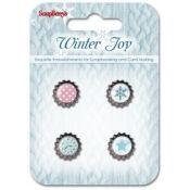 Winter Joy Cápsulas Decorativas Scrapberry's