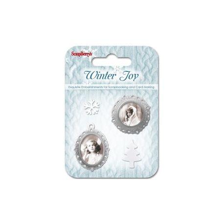 Winter of Joy Adornos 3 Scrapberry's