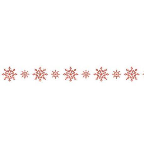 Washi tape Copos de Nieve