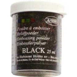 Polvo relieve Negro