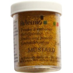 Polvo relieve Mostaza