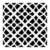 Plantilla baldosa mosaico 1