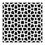 Plantilla baldosa mosaico 2