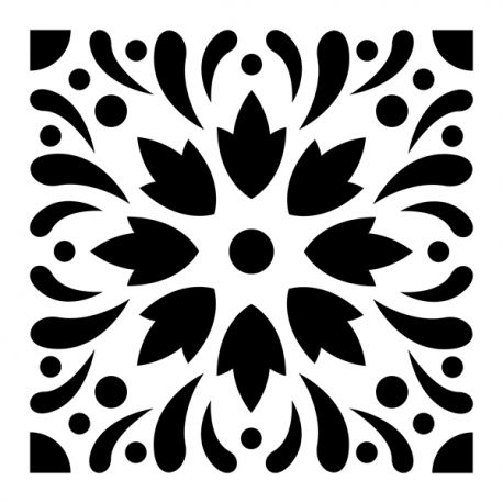 Plantilla baldosa mosaico 4