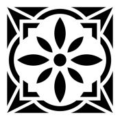 Plantilla baldosa mosaico 6