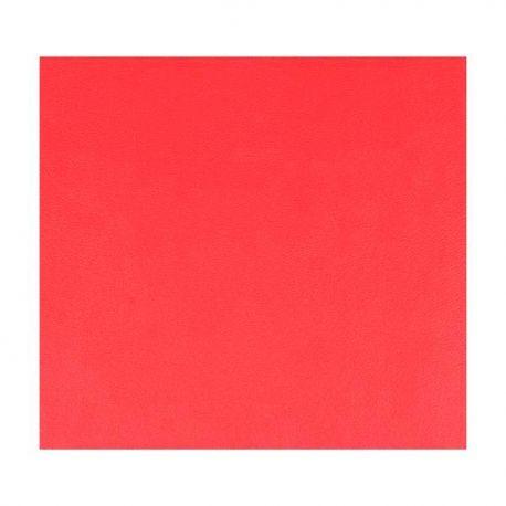 Símil Cuero 30X30 Rojo