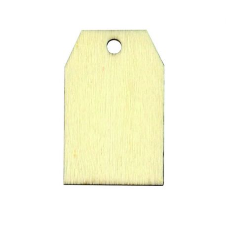 Etiqueta de madera Tags