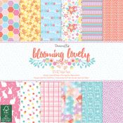 Set Scrapbooking Blooming Lovely 30x30 Dovecraft