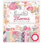 Set Scrapbooking Painted Blooms 20x20