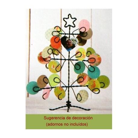 Arbol de Navidad metálico