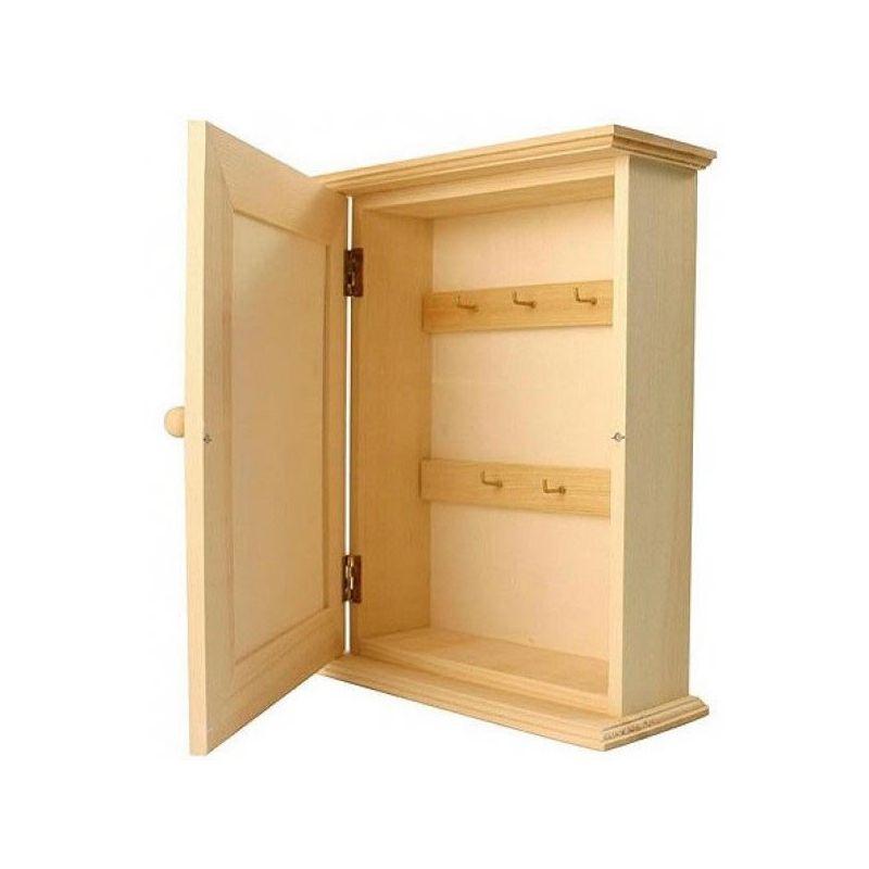 Armario para llaves en madera para decorar puerta lisa - Armarios para llaves ...