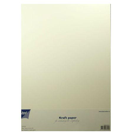 Cartulina Kraft Blanco A4