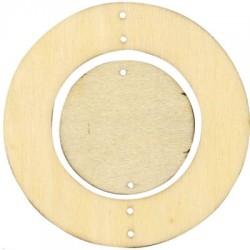 Círculos madera para movil