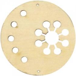 Círculos madera para movil - copo