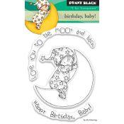 Set sellos acrílicos - Happy Birthday Baby