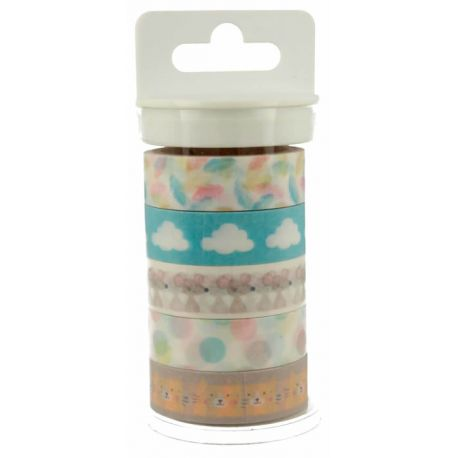 Washi Tape Adorable Panda