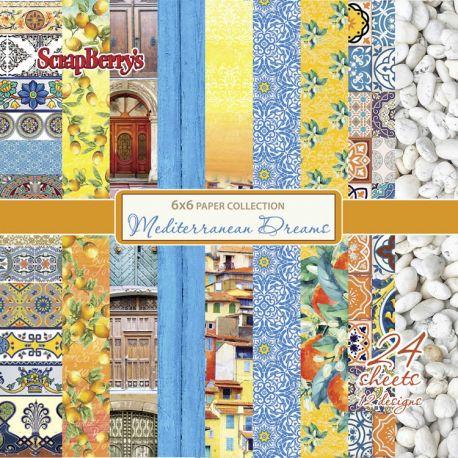 Mediterranean Dreams Paper Set 15x15