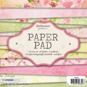 Paper Pad Floral and Backgrounds