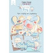 Die Cuts Sweet Baby Boy Fabrika Decoru
