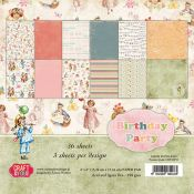 Craft& You Birthday Party Set para scrapbooking 15x15