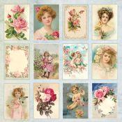 Craft & You Rose Garden Recortables para scrapbooking