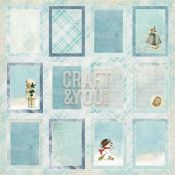 Frozen Paper Recortables para Scrapbooking de Craft & You