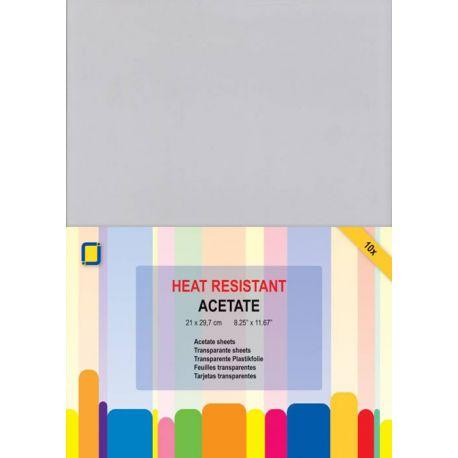 Heat resistant Acetate