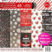 Bloc de cartulinas North Pole Gazette Craft Smith