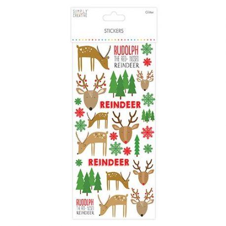 Glitter Stickers - Renos