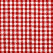 Tela algodón - Basic Vichy Rojo
