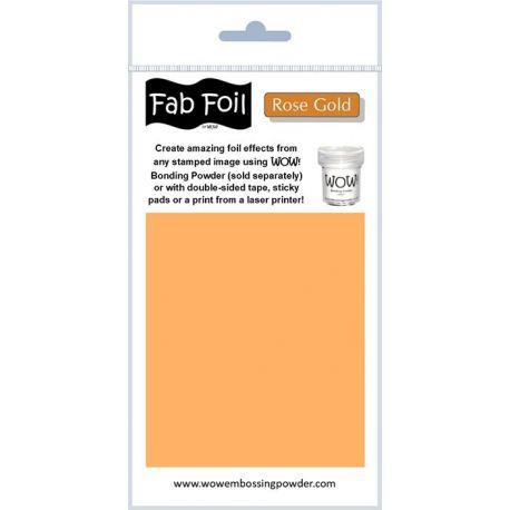Fabulous Foil - Rose Gold