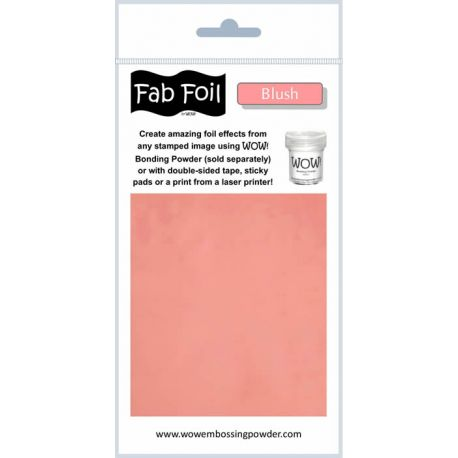 Fabulous Foil - Blush