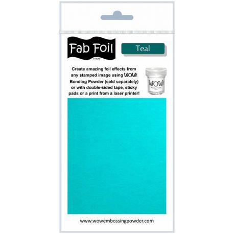 Fabulous Foil - Teal